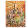 Djibrirou Kane 'Chiwara Headdresses' Canvas Art