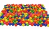 100 Pcs Colorful Babies Kids Ball Pit Balls