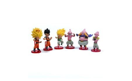 6pcs Dragon Ball Z Action Model Anime Figure Dragonball Toy 4a9eaaf7-1cfd-4749-b044-e80cfbd52d62