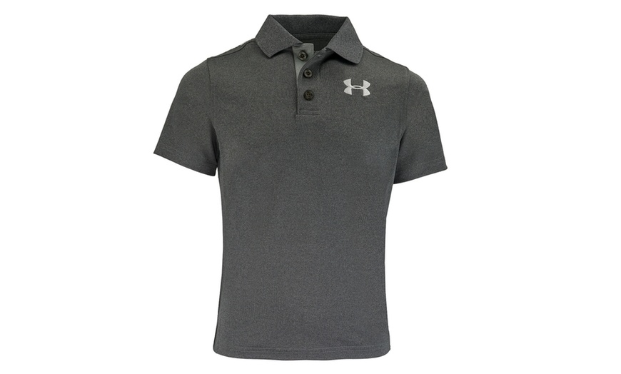 Under Armour Boys/' Matchplay Polo Shirt White L