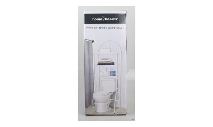 Over The Toilet White 3 Shelf Bathroom E Saver