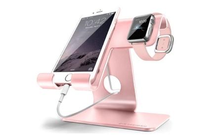 Universal 2-in-1 Desktop Cell Phone, Tablet, Apple Watch, Holder Stand f77c4242-6ddd-4c6d-9dcd-22c220e8fb5e