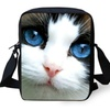 3D Cat Small Shoulder Cross-Body Kids Bag