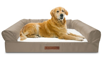 Wags and Whiskers Sofa-Style Orthopedic Pet Bed