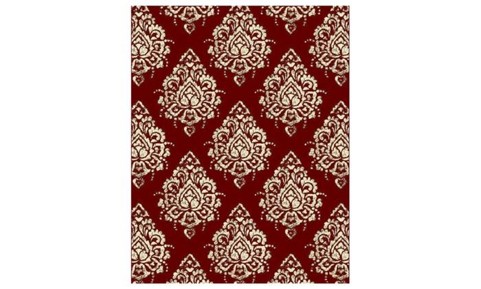 Modern Area Rugs Red For Living Room 8x10 Runner