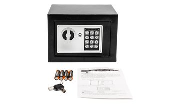 221 oz Home Use Digital Steel Security Safe Box