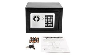 221 oz Home Use Digital Steel Security Safe Box  at Wmart, plus 6.0% Cash Back from Ebates.