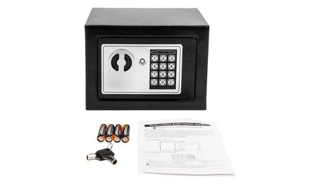 221 oz Home Use Digital Steel Security Safe Box