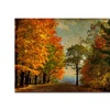 Lois Bryan 'Autumn on the Mountain' Canvas Art