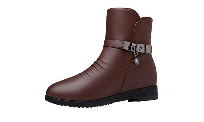 Women's Diamante Metallic Marten Boots