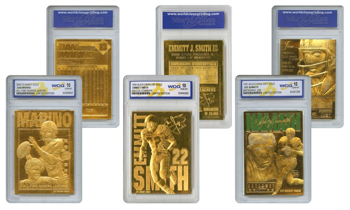 f8f4694f986 Up To 13% Off on NFL Gold Card Set (3-Piece) | Groupon Goods