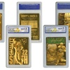 NFL Hall of Fame Gold Card Set (3-Piece)