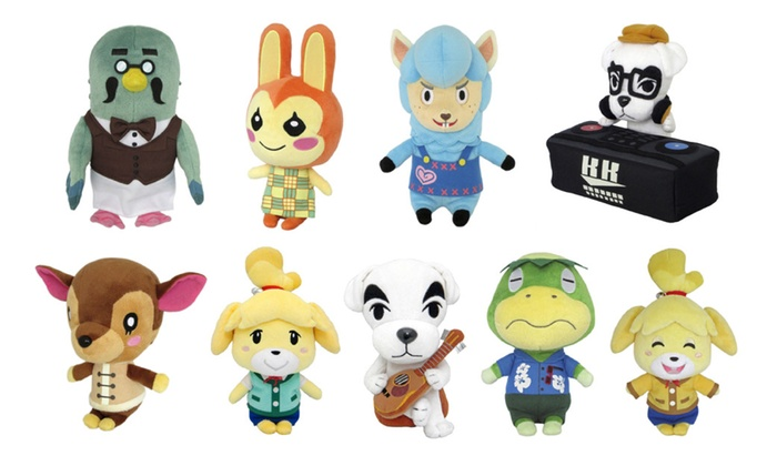 Little Buddy Animal Crossing Plush Toys 9 Characters Available