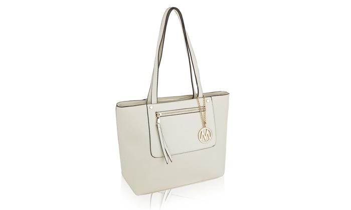 a8dae7470122 MKF Collection Take Me Anywhere Tote Bag by Mia K. Farrow | Groupon