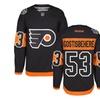 Philadelphia Flyers Shayne Gostisbehere Youth Stadium Premier Jersey
