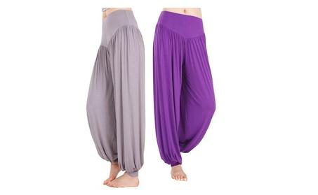 Sports Bloomers Yoga Pants Dance Pants Loose Yoga Clothes 375c5dd3-701c-4c11-976c-f5e63b593780