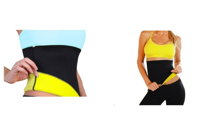 Slimming Waist Shape Plus Workout Abdominal Detox Belt