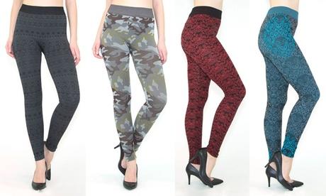 INDERO Junior Printed Fashion Leggings 4Pack ead90d61-7aeb-4c68-8ad4-16326d195394