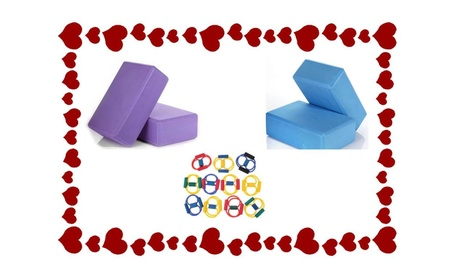 Yoga Foam Block & Yoga Pilates Band Special For Valentine Day a9ef51f0-806d-4c8a-b259-e4c00e94b8ca