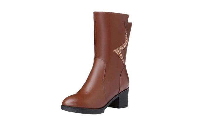 Women's Zip Casual Marten Boots