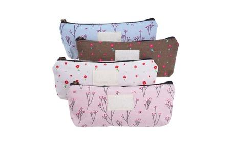 Canvas Countryside Floral Pencil Case Cosmetic Bags c0ac7816-9d3c-4499-8ce2-1e35e7ea2791