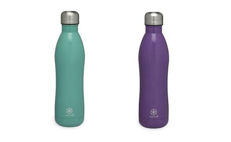 Gaiam Stainless Steel Water Bottle, 17oz - No-Leak, Vacuum Sealed 9cb674fd-d482-434b-8397-1eea560276c0