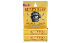 Burt's Bees Beeswax Lip Balm (2-Pack)