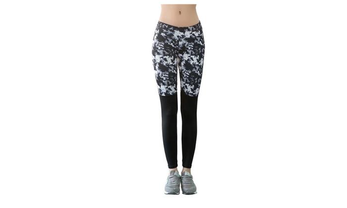 SSNB Women's Workout Spandex Pants Yoga Leggings Gym Clothes