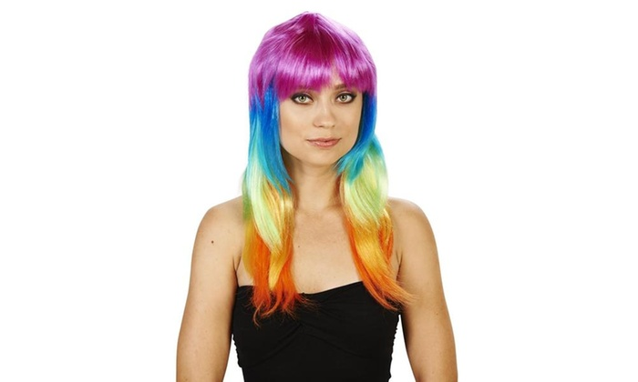 Colorful Adult Wig