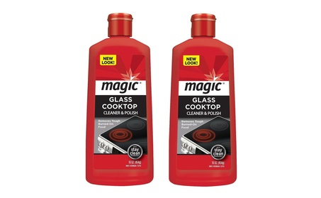 Magic® Glass Cooktop Cleaner & Polish 16Oz. Bottle 2-Pack photo