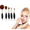 Professional Women's  Super Soft Oval Makeup Brush Set (10-piece)