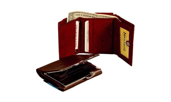 Genuine Leather Ladies Wallet Credit Card Holder