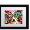 Dean Russo 'Papillon 9149' Matted Black Framed Art