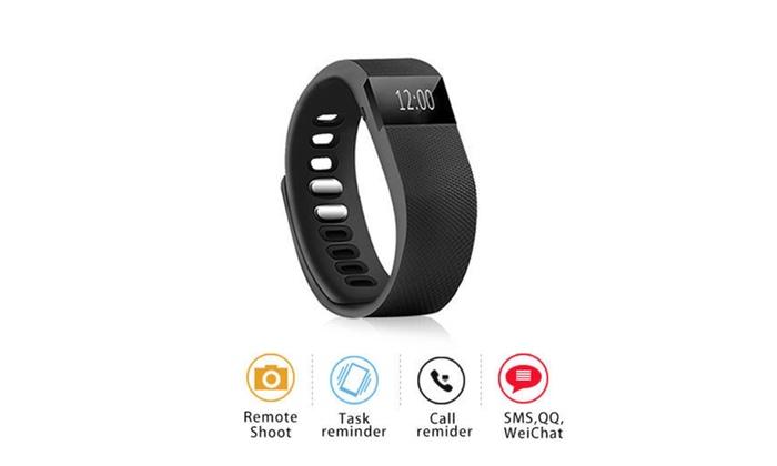 Smart Sports Fitness Activity Tracker Band Pedometer Bracelet Watch