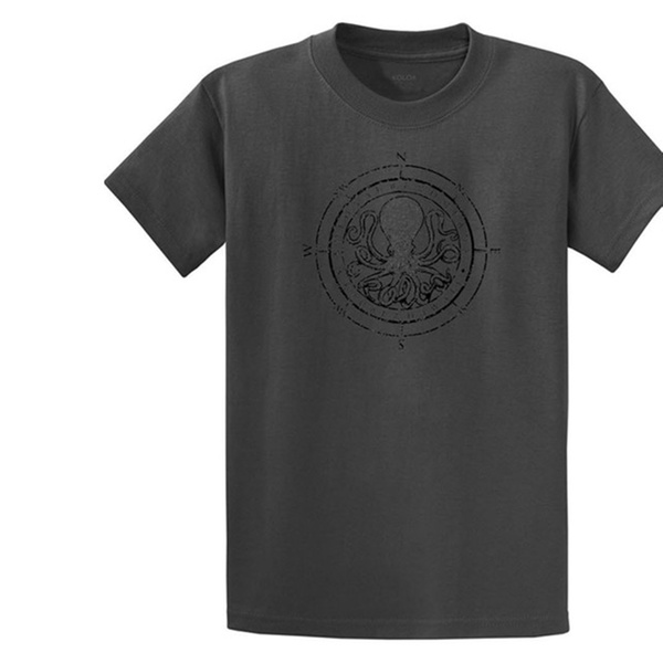 8b10e92dc Koloa Surf Octopus Logo Mens Heavy T-Shirts in Regular, Big & Tall | Groupon