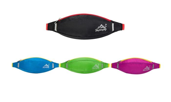 Waterproof Nylon Outdoor Bags Sports Running Climbing Fish Waist Pack