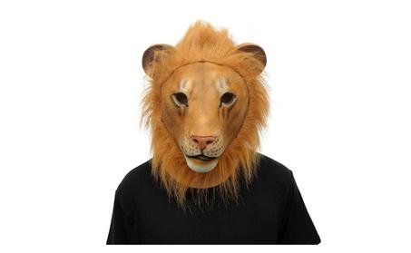 Halloween Costume Party Animal Lion Head Mask Lion a9f37b3e-88f1-4fa2-8ea2-a2430f51c45a