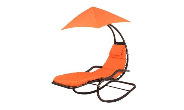 Vivere Original Dream Rocker Chair   Orange Zest ...