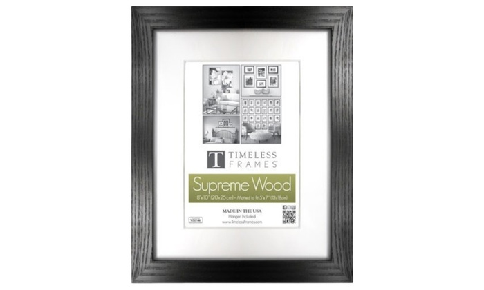 Timeless Frames 73219 Regal Black Wall Frame, 11 x 17 in. | Groupon