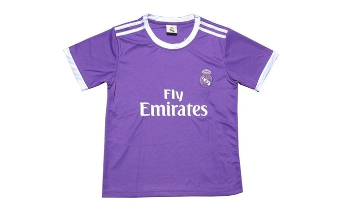 finest selection 579d7 ad823 Real Madrid Purple Kid Youth Cristiano Ronaldo Jersey Purple ...