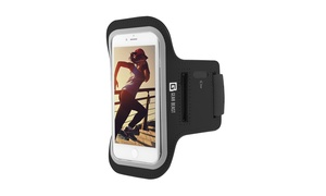 Gear Beast Sports Armband for Cell Phones with Reflective Strap