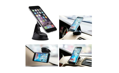 Universal 3 in 1 Dashboard /Windshield /Vent Magnetic Phone Car Mount a49100ba-0dd1-4c57-b56e-95fbd790e028