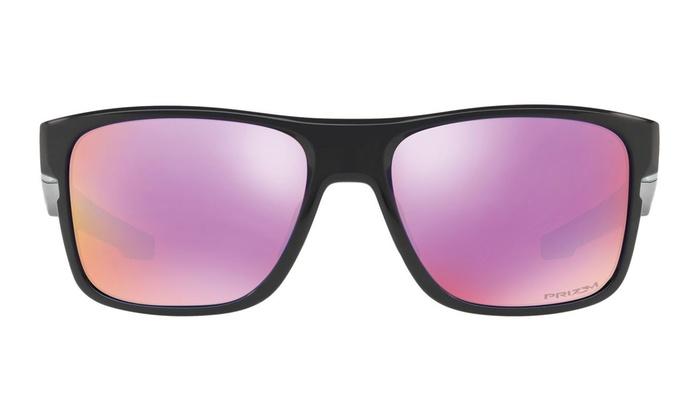 123b0a436d19d Oakley Crossrange Squared Men Sunglasses OO9361-04 Polished Black   PRIZM  Golf