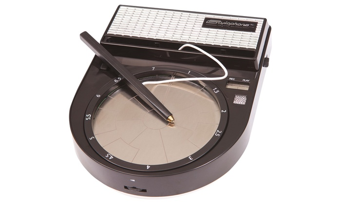 pocket drum machine stylophone beatbox groupon. Black Bedroom Furniture Sets. Home Design Ideas