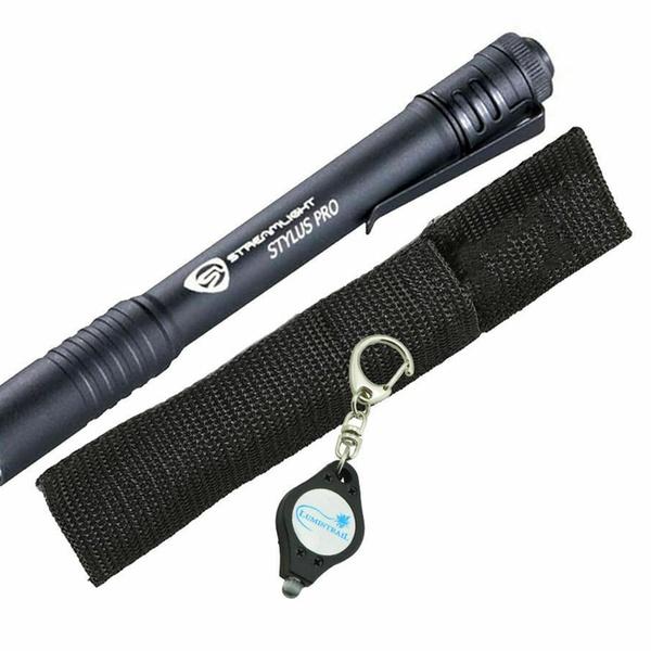 Black Free Delivery BRAND NEW Streamlight Stylus Pro 66118 Pen Light /& Holster