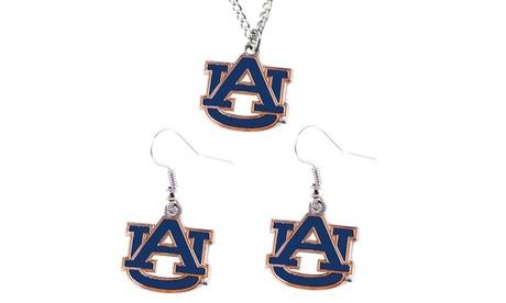 Auburn Tigers Necklace and Dangle Earring Charm Set - NCAA 9256d08a-35fc-44c3-8e12-5a76756070b9