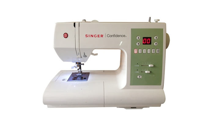 Singer 40 Confidence Stylist Sewing Machine Refurbished Groupon Gorgeous Singer 447 Sewing Machine