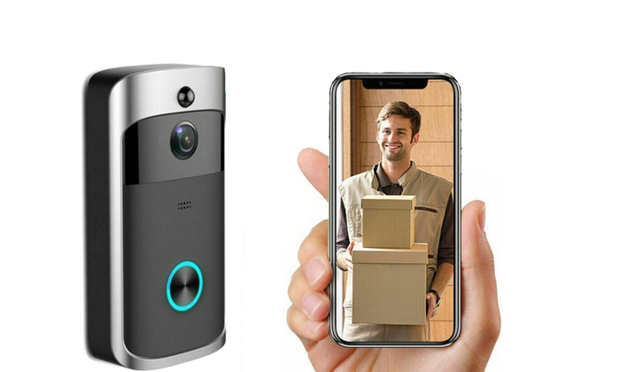 NEW Wireless Doorbell Video Camera Ring WiFi Door Intercom Smart Phone Recorder