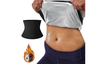 Sweat Shaper Waist Trimmer for Women Sauna Slimming Belt Plus Size Available
