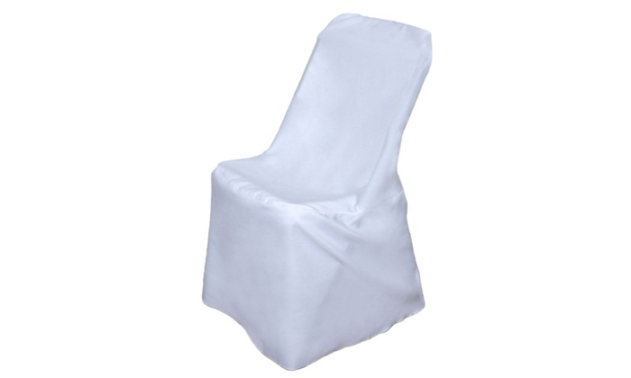 New 100pcs Polyester Banquet Folding Chair Cover Wedding Party Decor